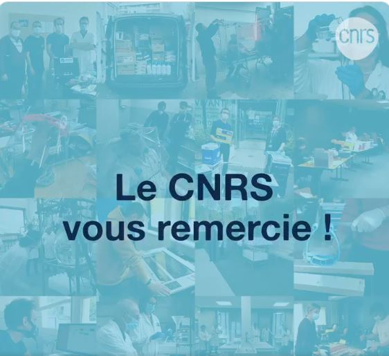 Initiatives in solidarity with CNRS teams and its partners