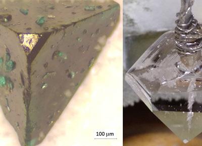 Détermination par microscopie optique interférentielle in situ des mécanismes de croissance de cristaux fonctionnels; -Vijaya Shanthi Paul Raj/Alexandra Peña Revellez-